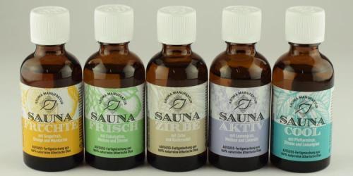 Sicherheitsdatenblätter SAUNA-Öle Fertigmischungen